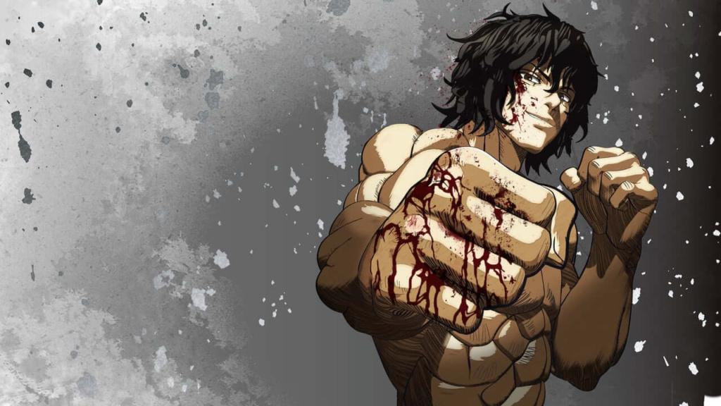 fighting anime kengan